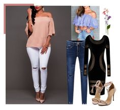 """""""Smile at life"""" by suger-520 on Polyvore featuring top, pants and lovelywholesale"""