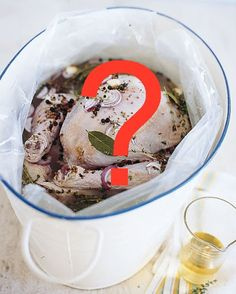 To Brine or Not to Brine? Find out what the Martha Stewart test kitchen editors have to say about preparing the perfect turkey.