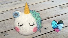New crochet unicorn bookmark Ideas Unicorn Cushion, Unicorn Pillow, Crochet Baby Pants, Crochet Pillow, Crochet Gifts, Crochet Toys, Lidia Crochet Tricot, Sock Loom, Cable Knitting