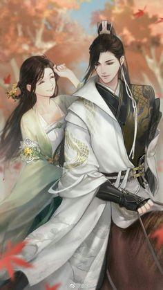 Putri Kecilku (end) Cute Couple Art, Anime Love Couple, Manga Couple, Anime Couples Manga, Cute Anime Couples, Anime Guys, Anime Art Girl, Manga Art, Chinese Drawings