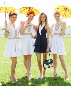 The Sixth Annual Veuve Clicquot Polo Classic: Laura Remington Platt