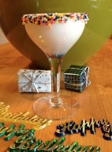 Cake and Ice Cream Martini by Linda Roy @elleroy