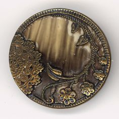 BUTTONS  COLLECTIBLE  Antique Celluloid and Metal by annswhimsey, $32.50