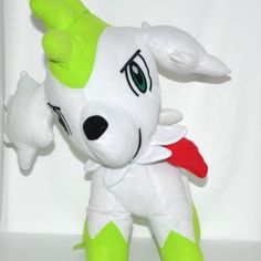 Ready to be loved #Pokemon Plush Shaymin Sky Forme by Toy Factory