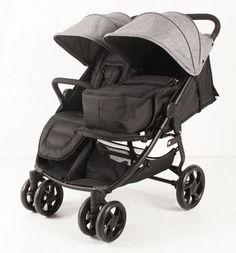 Lekki, nowoczesny i komfortowy wózek dla bliźniąt i rodzeństwa holenderskiej firmy KEES w wersji Tandem, Happy Baby, Baby Strollers, Children, Alter, Twin, Products, Second Child, Baby Nest