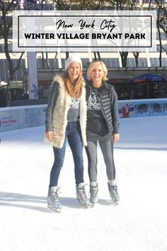 Winter Village features NYC's only free-admission skating rink, holiday market and delicious food offerings.