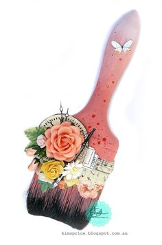 Haha! To clever, and I've been throwing mine away! Marion Smith Designs: Altered Paintbrushes