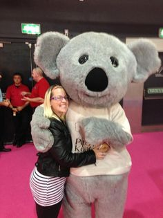 Making friends at the Bluewater Baby & Toddler Show