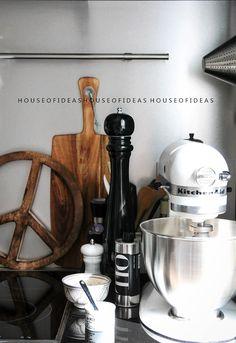 HOUSE of IDEAS Kitchen Peace Sign Coaster www.houseofideas.de