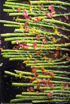Roasted Asparagus with Prosciutto and Orange Recipe | stupideasypaleo.com