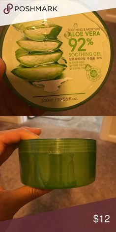 Nature Republic Soothing & Moisture ALOE VERA About this item Features Product of South Korea The best of best million-selling gel, this gel made about 30 times of sold-outs in a year, and also sold about 1.50 million Main ingredients : aloe Vera extracts 92% Stimulated by the sun, the Aloe Vera relaxes your all reddish and dried face, arm, leg, and whole body, it also gives good moist and it is also rich in vitamin Especially it is approved by CCOF (California certified organic farmers)…
