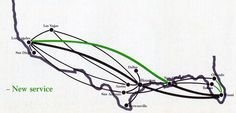 1986 - April 7 - TranStar Airlines and Muse Air Timetables, Route Maps, and History