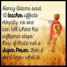 Teachers are our heroes!