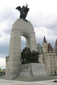 The National War Memorial, Ottawa, ON