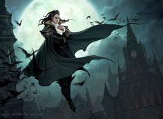 Vampire artwork dave allsop
