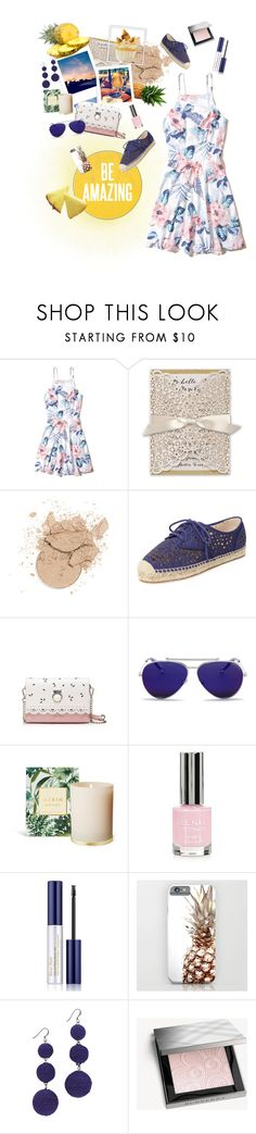 """Untitled #204"" by etotnikzanyat ❤ liked on Polyvore featuring Hollister Co., Vince Camuto, Alexander McQueen, Topshop, Estée Lauder, Kenneth Jay Lane and Burberry"