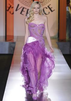 Atelier Versace - Haute Couture Automne-Hiver 2012-2013