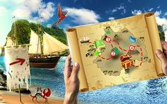 Casino Cruise is taking you on a wild ride with Treasure Hunt Challenge. Meet their challenges playing different games and win a huge amount of free spins! Online Casino Reviews, Online Casino Bonus, Casino Cruise, Different Games, Camping With Kids, Camping Hacks, Survival, Challenges, Monsters