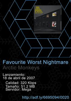 0020. #Favourite #Worst #Nightmare - #Arctic #Monkeys