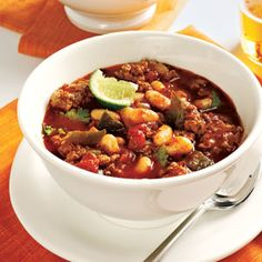 Top-Rated Chili Recipes | Turkey and Bean Chili | CookingLight.com