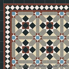 Victorian panels Archives - Page 4 of 5 - Martin Mosaic Ltd - Victorian Floor Tiles in Wimbledon, London Victorian Tiles, Bespoke Design, Tile Design, Tile Floor, Mosaic, Display, Flooring, Quilts, Blanket