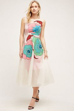 Maravilla Silk Dress #anthropologie