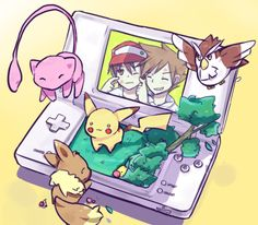 Pokémon and the Nintendo DS. It's only natural to combine them.