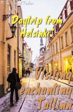 Daytrip to the fairytale city of Tallinn