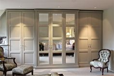 built in wardrobe doors ideas - Bing images Room, House, Interior, Home, Home Bedroom, Closet Bedroom, Built In Wardrobe, Bedroom Inspirations, Wardrobe Doors