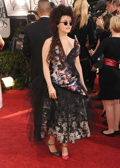 Helena Bonham Carter Photos - 68th Annual Golden Globe Awards - Arrivals - Zimbio