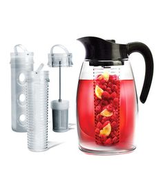 Look what I found on #zulily! Black Flavor It Beverage System Pitcher #zulilyfinds