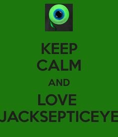KEEP CALM AND LOVE JACKSEPTICEYE - KEEP CALM AND CARRY ON Image ...