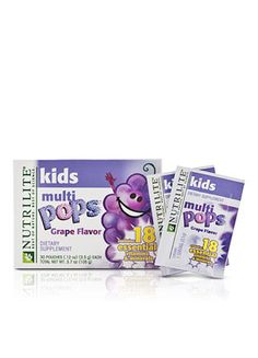 This item will be available for purchase on Monday, October 29th   The fun kids multivitamin that pops and fizzes on your tongue!  Kids love MULTIPOPS for the exciting popping and fizzing sensation they'll experience and the yummy grape flavor.