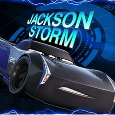 Jackson Storm #cars3