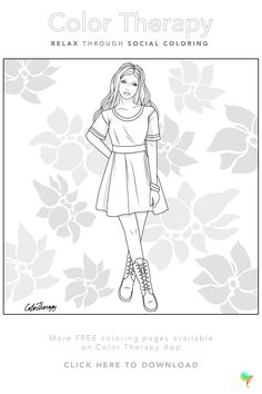 Coloring Book Art, Coloring Apps, Free Coloring Pages, Sailor Moon Coloring Pages, Barbie Coloring, Printable Coloring Sheets, Art Therapy, Character Illustration, Colorful Pictures