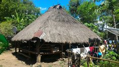 Village Traditional House at Southwest Sumba, Indonesia