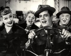 Ricky, Lucy, Fred and Ethel. I Love Lucy...still funny after almost 60 years. Lucille Ball was a comedic genius