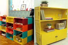 Saiba como fazer a decoração da sua casa utilizando objetos recicláveis.