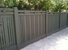 This fence would work...