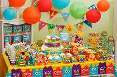 Como Fazer Festa Monstrinhos | Como Fazer Festas