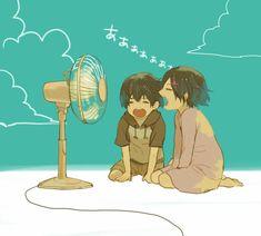 Todo mundo fazia isso quando era criança - Eu ainda faço... - Touka e Ayato | Tokyo Ghoul