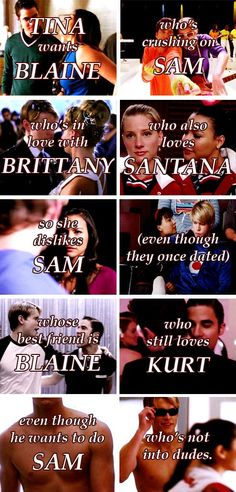 So confusing if your not a GLEEK