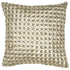 I pinned this Jocelyn Pillow from the Metallic Tidings event at Joss and Main!