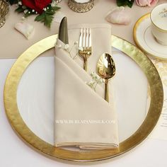 Champagne Napkins for Weddings, Matte Champagne Napkins for Restaurants and Hotels | Wholesale Cloth Napkins