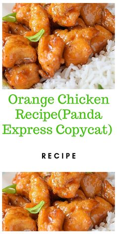 Skip the takeout and make this Healthy Orange Chicken Recipe for dinner! A simple, delicious dinner that is paleo, gluten free, packed with flavor and done in under an hour! Made with just a few ingredients, it's tasty and easy to make! Best Chinese Food, Authentic Chinese Recipes, Easy Chinese Recipes, Easy Dinner Recipes, Asian Recipes, Easy Meals, Healthy Recipes, Yummy Dinner Ideas, Homemade Chinese Food