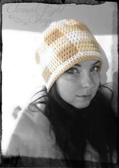 ALL SIZES Gingham Beanie by EternalLightShop on Etsy, $22.00