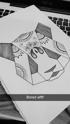 Dm me if you would like this kinda art. I copied an original panda art and modified into my own mandala panda.