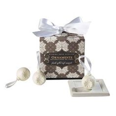Official site of Gianna Rose Atelier. Triple-milled, soaps with incredible natural fragrances and inspired designs. A gorgeous gift for yourself or a friend. Soap On A Rope, Christmas Decorations, Fragrance, Design Inspiration, Place Card Holders, The Incredibles, Ornaments, Soaps, Gifts