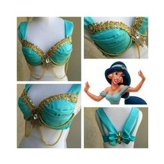 Princess jasmine rave bra, wish I could still dress like her.... | See more about Princess Jasmine, Jasmine and Rave Bras.