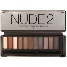 BYS Nudes 2 Eyeshadow Palette -- For more information, visit image link. (This is an affiliate link) Maybelline Eyeshadow, Nude Eyeshadow, Eyeshadow Palette, Eyeliner, Eyeshadows, Makeup For Green Eyes, Blue Eye Makeup, Bys Maquillage, Mascara